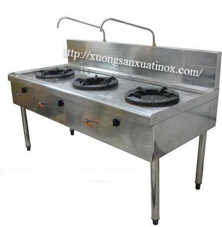 bếp ga công nghiệp INOX