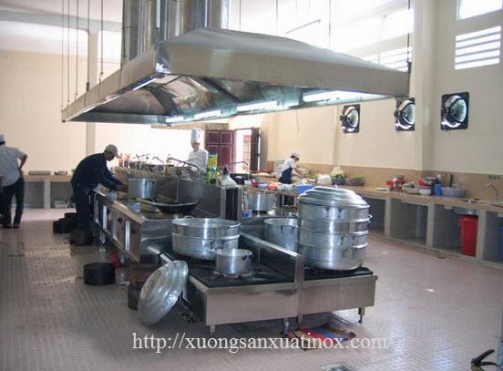 bếp trường học