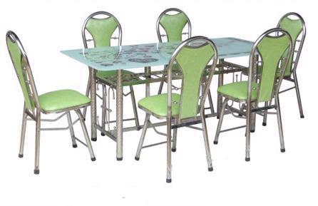 Bộ bàn ghế inox, bg-1120