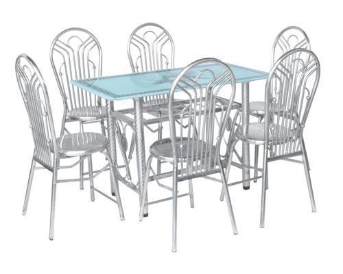 Bộ bàn ghế inox, bg-1221