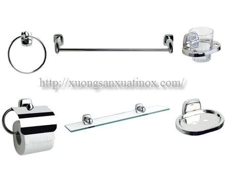 Bộ phụ kiện phòng tắm vệ sinh inox