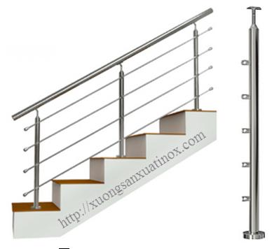 Cầu thang inox dân dụng