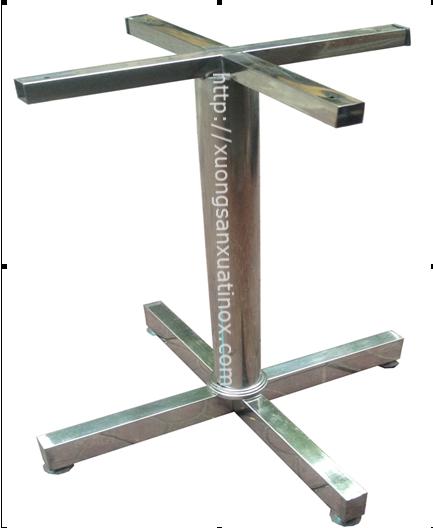 Chân bàn inox 304