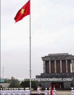 Cột cờ inox 304
