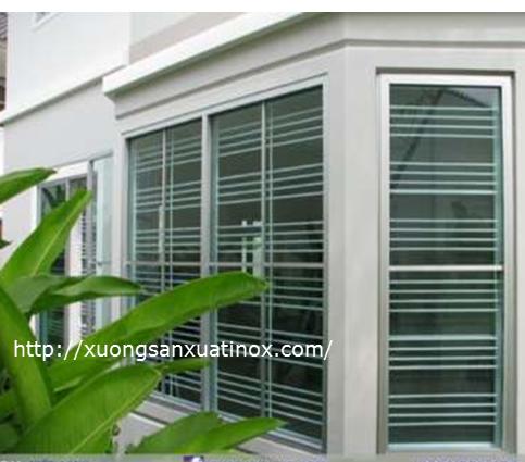 Cửa sổ inox bảo bảo vệ an toàn