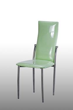Ghế dựa inox cố định mặt nệm simili