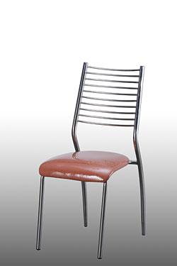 Ghế dựa inox cố định mặt nệm vải
