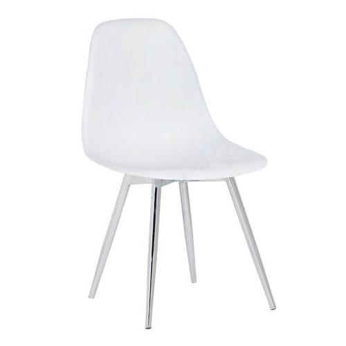Ghế dựa inox cố định mặt nhựa