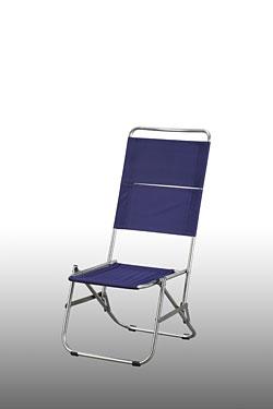 Ghế dựa lưng cao inox xếp mặt vải