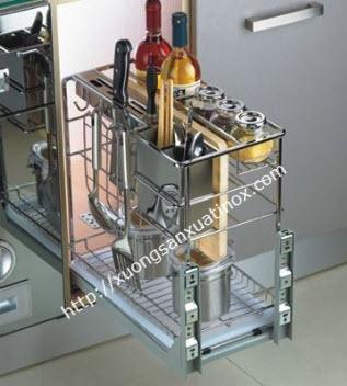 Giá dao thơt tủ bếp inox báo giá