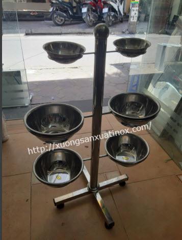 Giá đựng nước inox spa