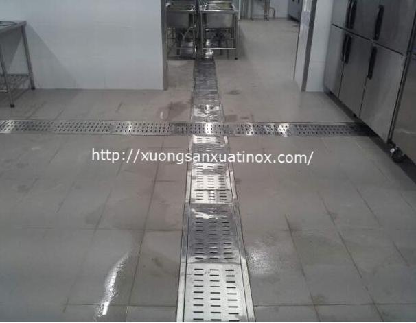 Thoát sàn inox công nghiệp