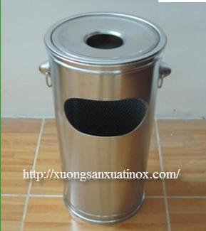 thùng rác inox chung cư