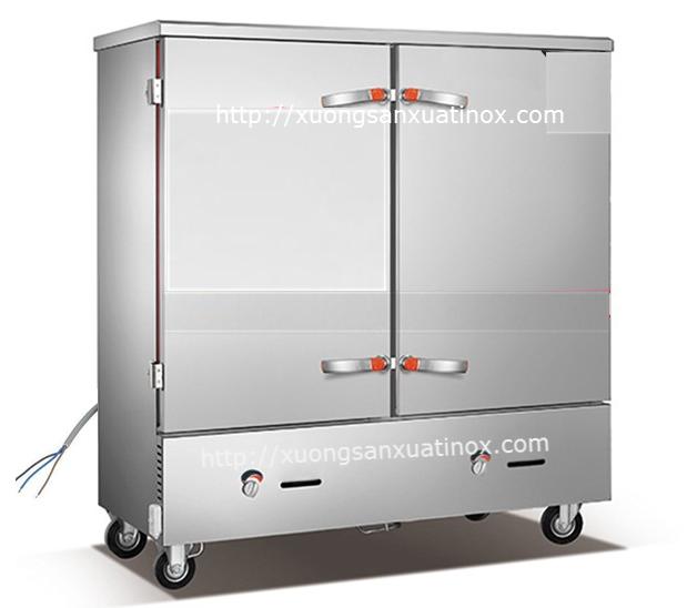 Tủ nấu cơm gas điện 24 khay