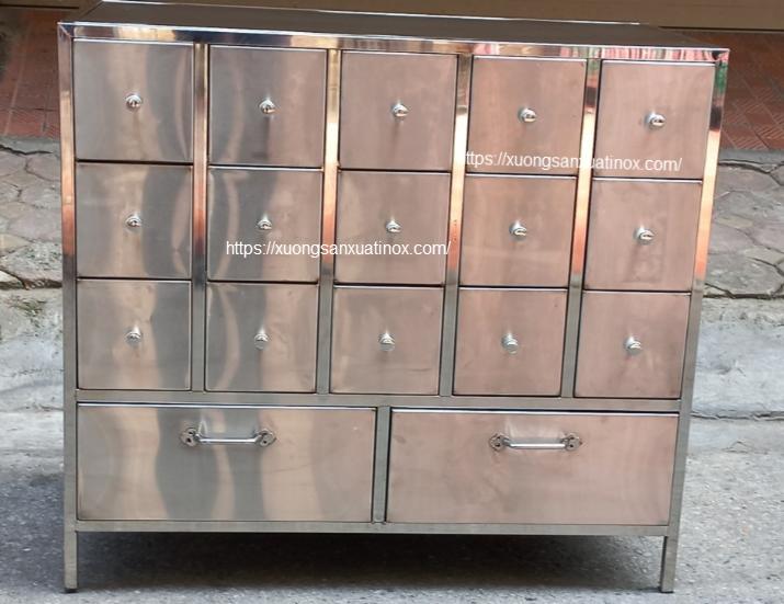 Tủ ô  keo inox bênh viện - hình ảnh