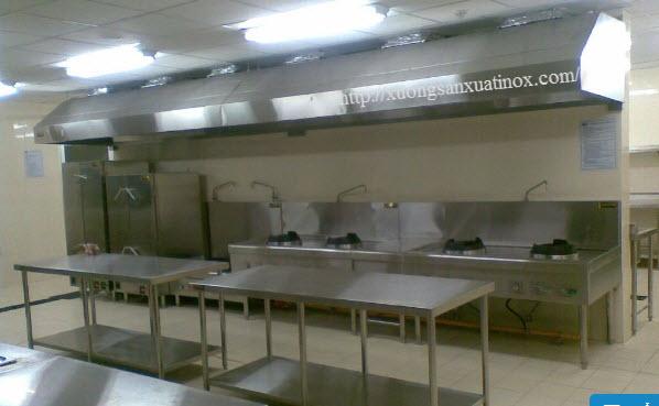 Tum hút nhà bếp inox