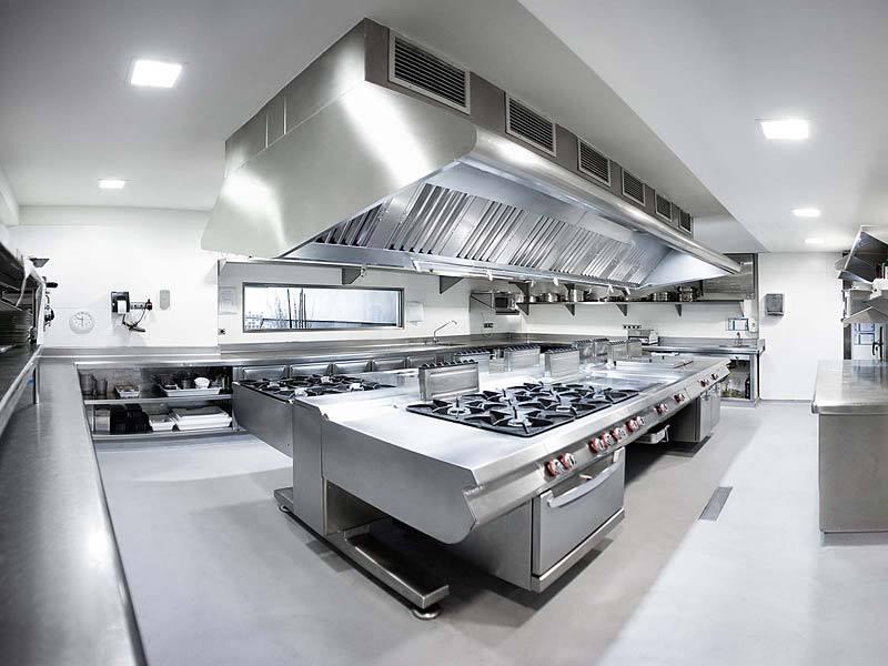 bếp công nghiệp được làm tử chất liệu inox