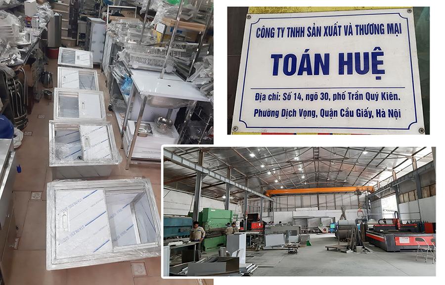 Xưởng sản xuất inox - Inox Toán Huệ