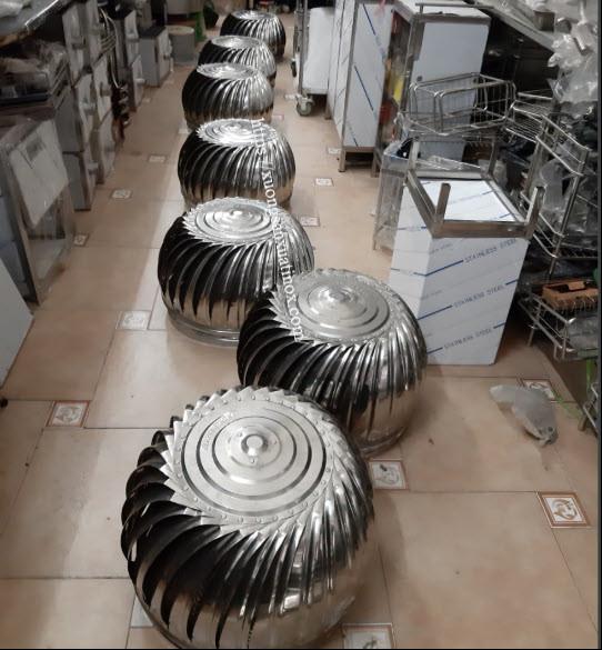 Lắp đặt quả cầu thông gió inox tại nhà hiệu quả