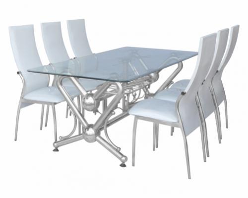 Lý do các hộ gia đình nên sử dụng bàn ghế inox