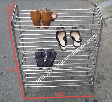 Top 5 kệ để giày dép làm bằng inox tốt nhất thiết kế nhỏ gọn