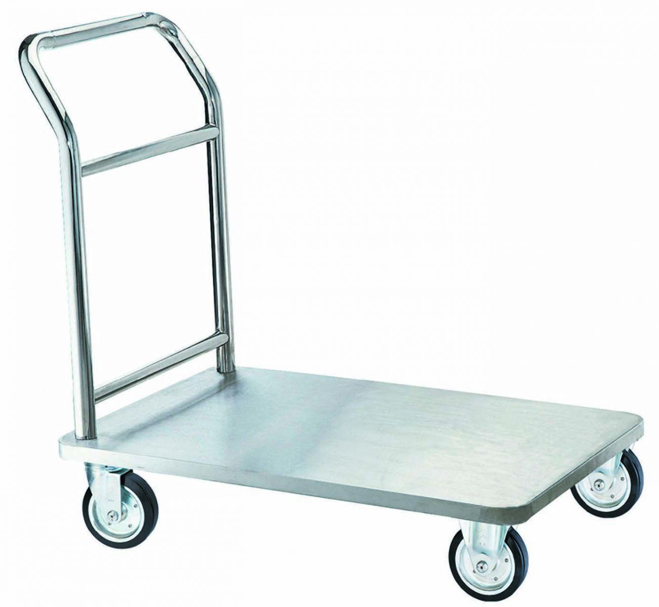 Xe đẩy hàng Inox là gì? Ưu nhược điểm và ứng dụng của xe đẩy hàng Inox trong cuộc sống