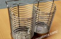 Tìm hiểu về sản phẩm giỏ đũa inox đôi, tròn đang được ưa chuộng trên thị trường